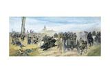 Assault on Madonna Della Scoperta  Circa 1864-1868