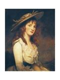 Portrait of Miss Constable  1787