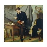 Lanfredini Self-Portrait  Circa 1866