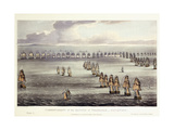 The Commencement of the Battle of Trafalgar  October 21st 1805  1817