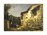 Colonial House in Sorrento  1859