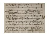 Sheet Music of Andromaca  1730