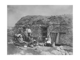 An Evicted Family at Derrybeg  County Donegal  Ireland  Late 1880S