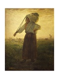 Norman Milkmaid in Greville  1874