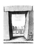 A Peep into the Sanctum Sanctorium  1724