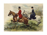 The Prince and Princess of Wales in the Hunting Field