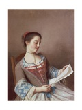 Portrait of Mademoiselle Lavergne