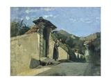 Study of Landscape  About 1860