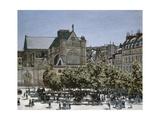 Saint-Germain-L'Auxerrois Church  Paris  1866