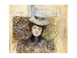 Woman with Netted Hat; Femme Au Chapeau De Tulle  C1901-03