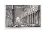 Interior of St Paul's Basilica Outside the Walls  1753-1837