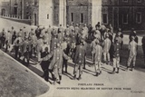 Convicts Being Searched on their Return from Work  Portland Prison  Dorset