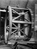 Transporting of the Framework of the Hale Telescope  C1936-48