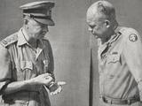 General Alexander in Conversation with General Eisenhower  1943