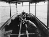 Viewing the Marine Gardens Through Bottom of Boat  Nassau  Bahamas  1900