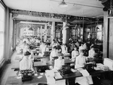Typewriting Department  National Cash Register  Dayton  Ohio  1902