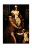 Venus in the Forge of Vulcan  Jupiter and Antiope