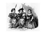 The Highland Dwarfs  Published in 'The Illustrated London News'  May 30 1846