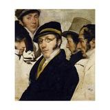 Self-Portrait with Friends Migliara  Palagi  Grossi  Molteni