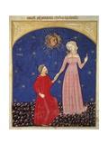 Beatrice Leading Dante  Paradise Scene from Divine Comedy