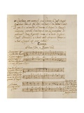 Examples of Polyphonic Music  from the Treatise on Harmonic Consonances  1717