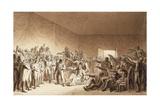 Napoleon Bonaparte Visiting Wounded at Battle of Jena