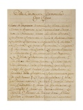 First Chapter of the Manuscript Treatise on Harmonic Consonances  1717