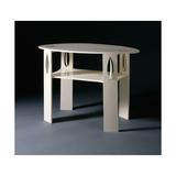 A White Oval Side Table  Originally Designed for 14 Kingsborough Gardens  Glasgow  1902