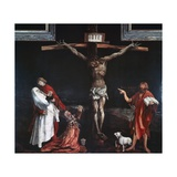 Crucifixion  Central Panel of the Isenheim Altarpiece  Ca 1515