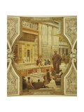 Austria  Vienna  Grand Staircase of Burgtheater Ancient Greek Theatre of Taormina  1878-1888