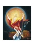 Resurrection of Christ  Detail from Isenheim Altarpiece  Circa 1515