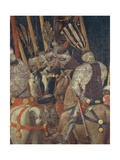 The Intervention of Micheletto Attendolo  Detail from the Battle of San Romano