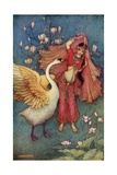 Damayanti and the Swan