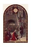 Offer of the Kingship to Richard  Duke of Gloucester  at Baynard's Castle  London  26 June 1483