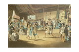 Scene in a Cochin-Chinese Opera  Plate 13 from 'A Voyage to Cochinchina' by John Barrow