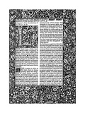 Front Page of Chapter I  Taken from the Well at World's End by William Morris  1896