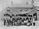The Fifes and Drums of the 3rd Battalion  Grenadier Guards at Beggarbush Barracks  Dublin  1868