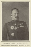 Lieutenant-General Baron Hasegawa  Commanding the Imperial Guard Division of the Army