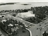 Aerial Shot of the Bayfront Auditorium and the Prins Valdemar Aquarium  1950