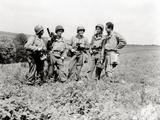 Five War Photographers from the Signal Photo Company  Three of Which Belong to the Engineers