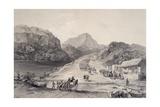 Mexican Army Crossing Rio Frio