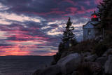 Magical Sunset at Bass Harbor Lighthouse  Maine