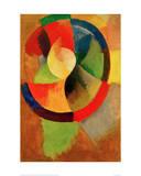 Cicular Shapes, Sun No.2, 1912/13 Giclée par Robert Delaunay