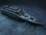 The Stern of the Titanic Lies on the Seafloor