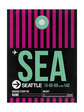 SEA Seattle Luggage Tag 2