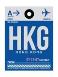 HKG Hog Kong Luggage Tag 1