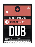 DUB Dublin Luggage Tag 2
