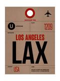 LAX Los Angeles Luggage Tag 1