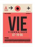 VIE Vienna Luggage Tag 1