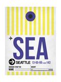 SEA Seattle Luggage Tag 1